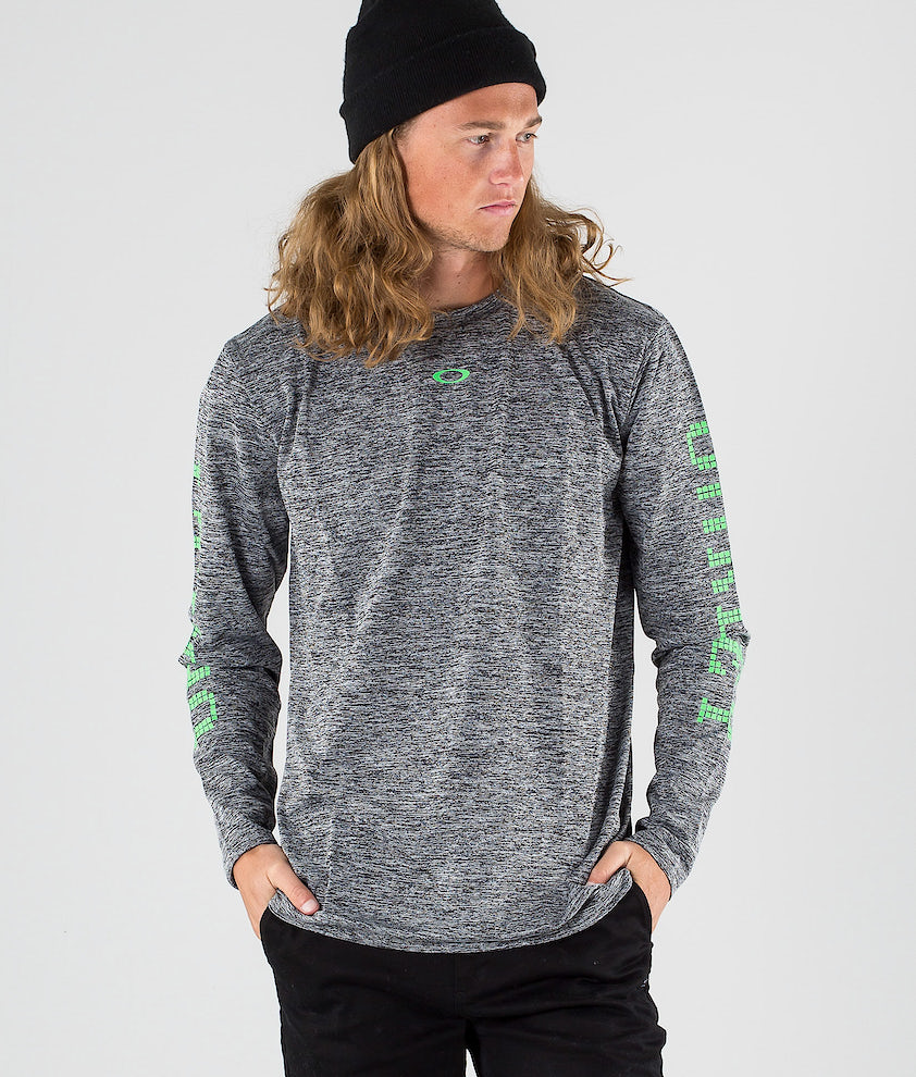 Oakley 3 Rd-G O Fit LS 2.7 Longsleeve Dark Grey Heather