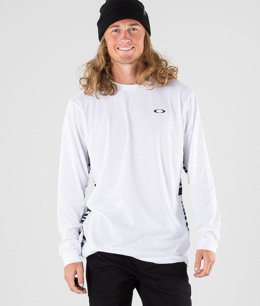 Oakley Enhance Qd LS Longsleeve White
