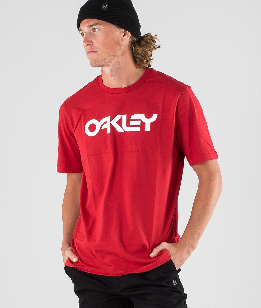 Oakley Mark II T-shirt Samba Red
