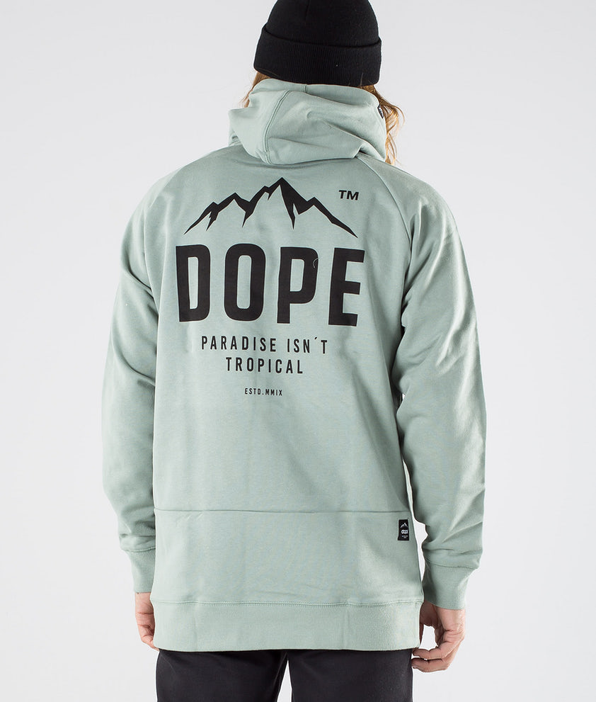 Dope Paradise II Hood Faded Green