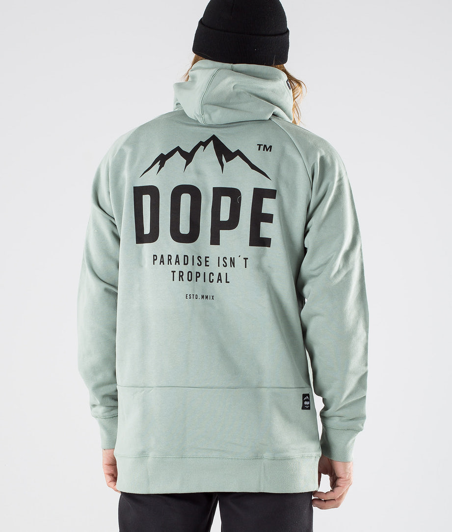 Dope Paradise II Capuche Faded Green