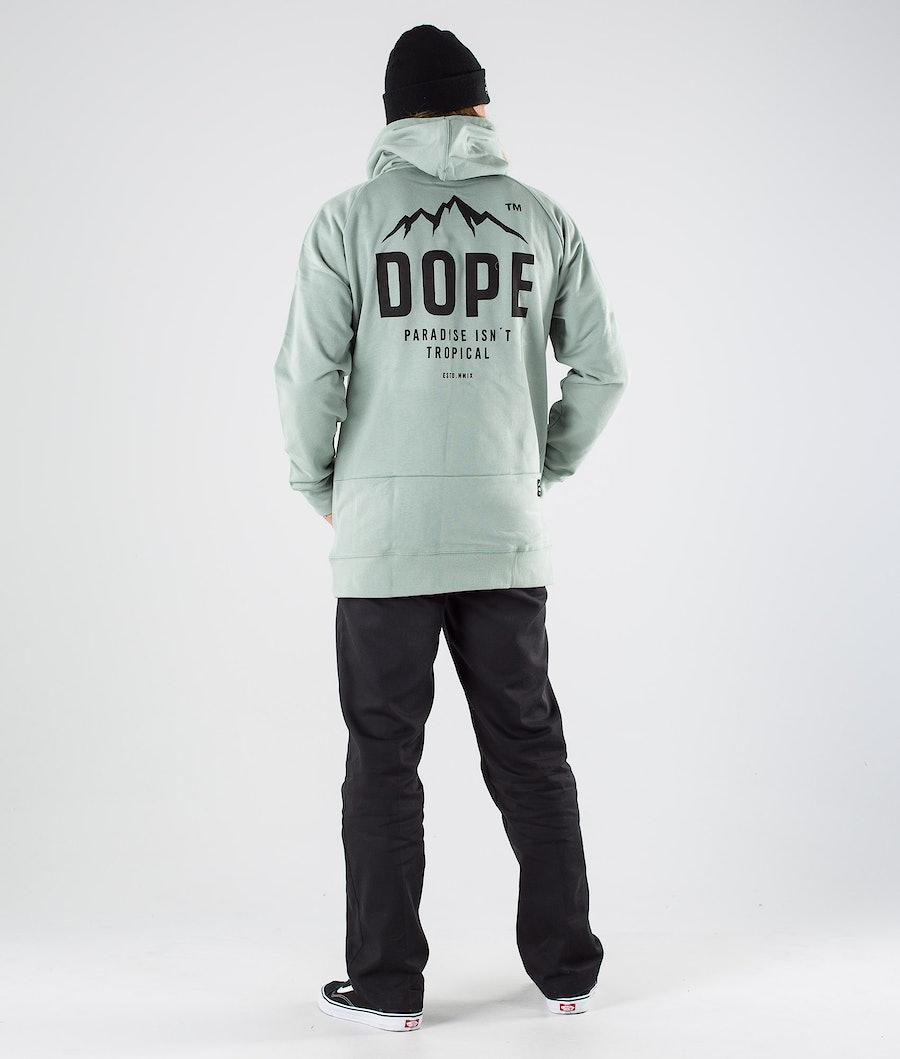 Dope Paradise II Hood Faded Green