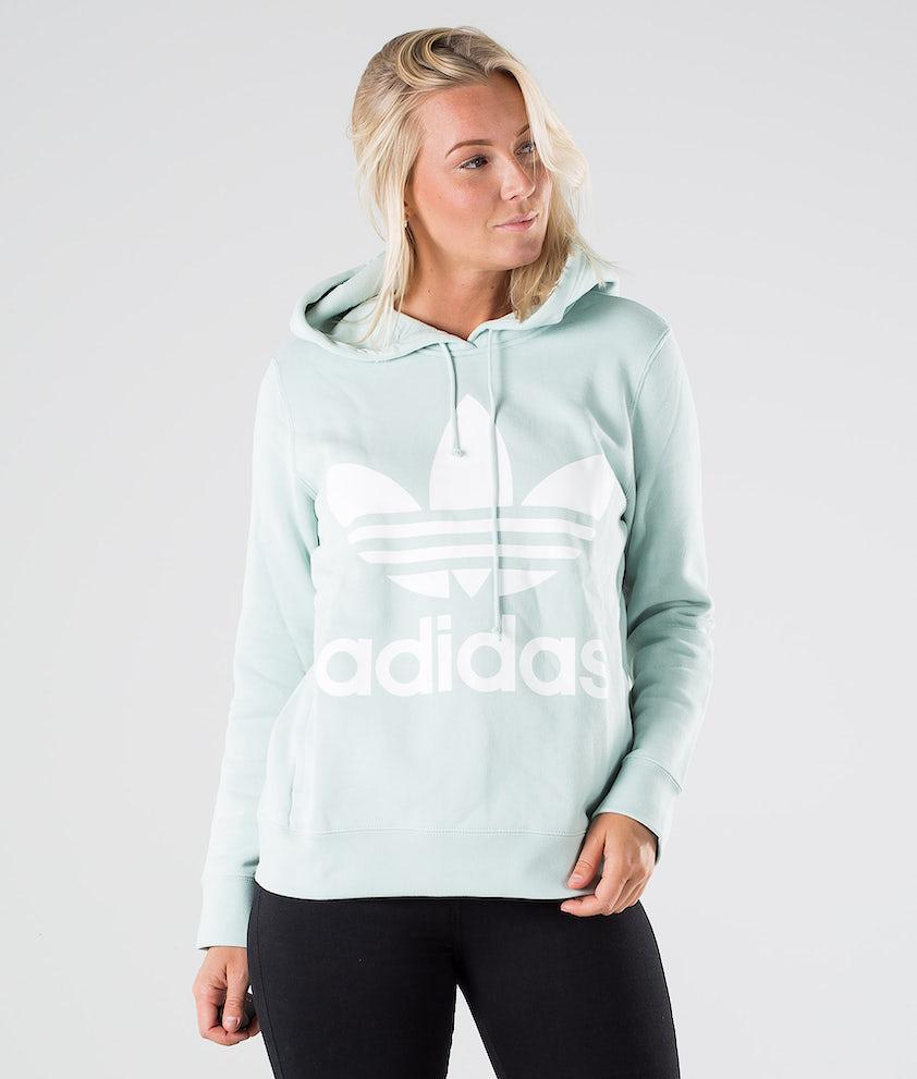 Adidas Originals Trefoil Hoodie Capuche Vapour Green