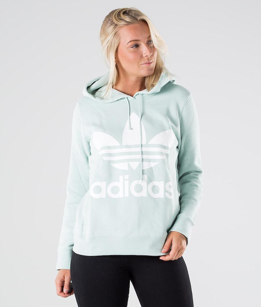 Adidas Originals Trefoil Hoodie Hood Vapour Green