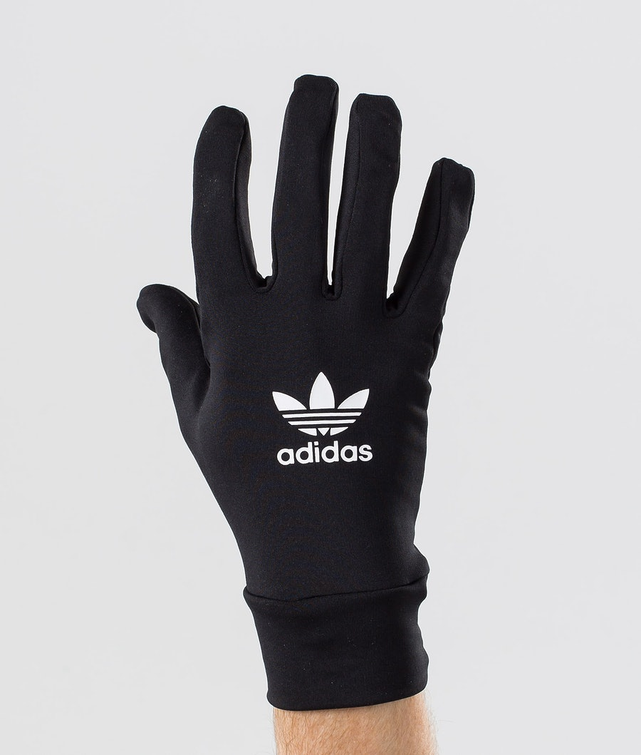 Adidas Originals Techy Ski Gloves Black/White