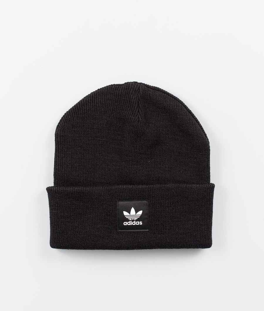 Adidas Originals Adicolor Cuff Knit Pipo Black