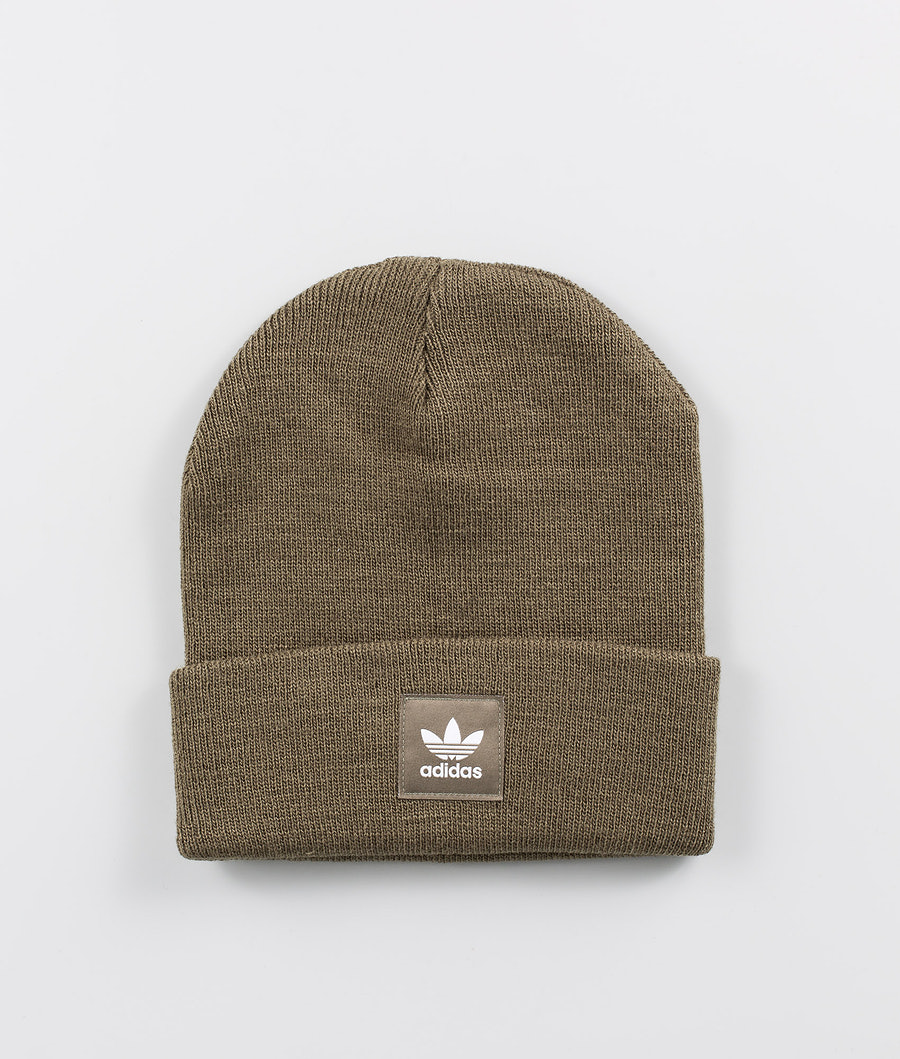 Adidas Originals Adicolor Cuff Knit Mössa Raw Khaki