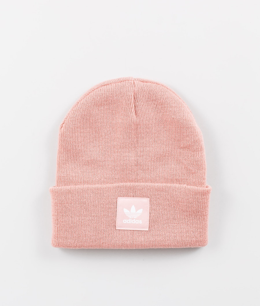 Adidas Originals Adicolor Cuff Knit Bonnet Pink Spirit