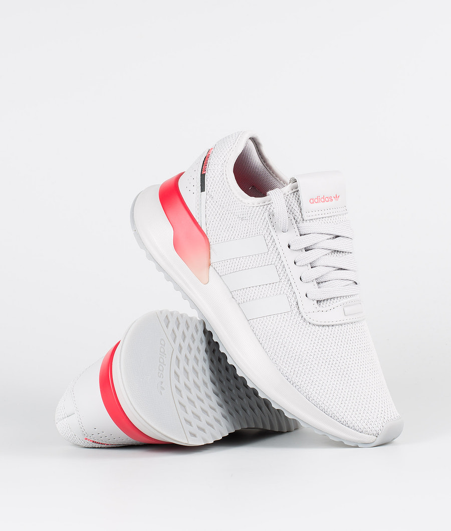Adidas Originals U_Path X W Skor Grey Two F17/Shock Red/Night Met.