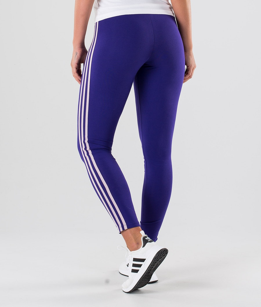 Adidas Originals 3-Stripes Tight Leggings Damen Collegiate Purple