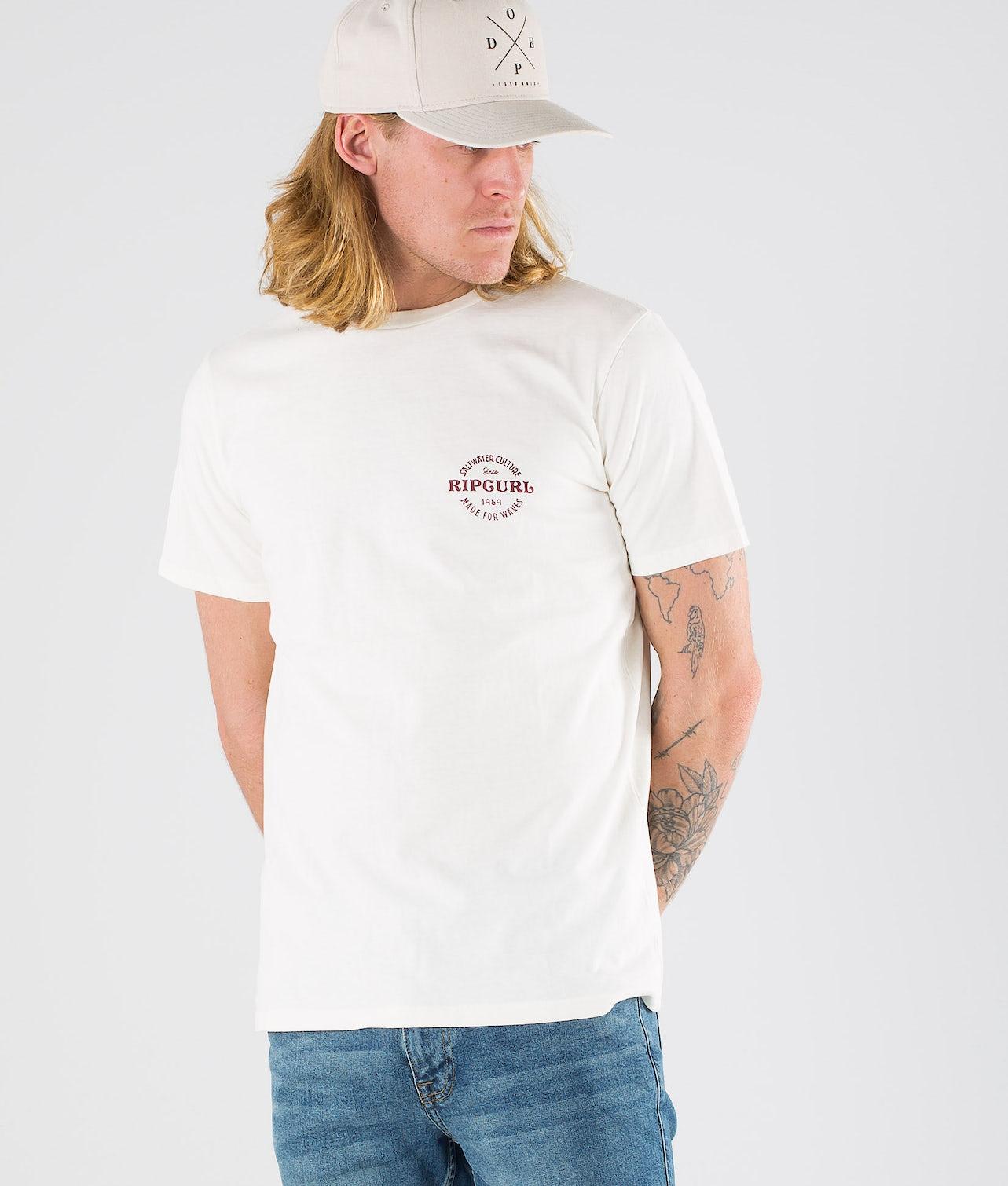 Rip Curl Perfecto T-shirt Bone