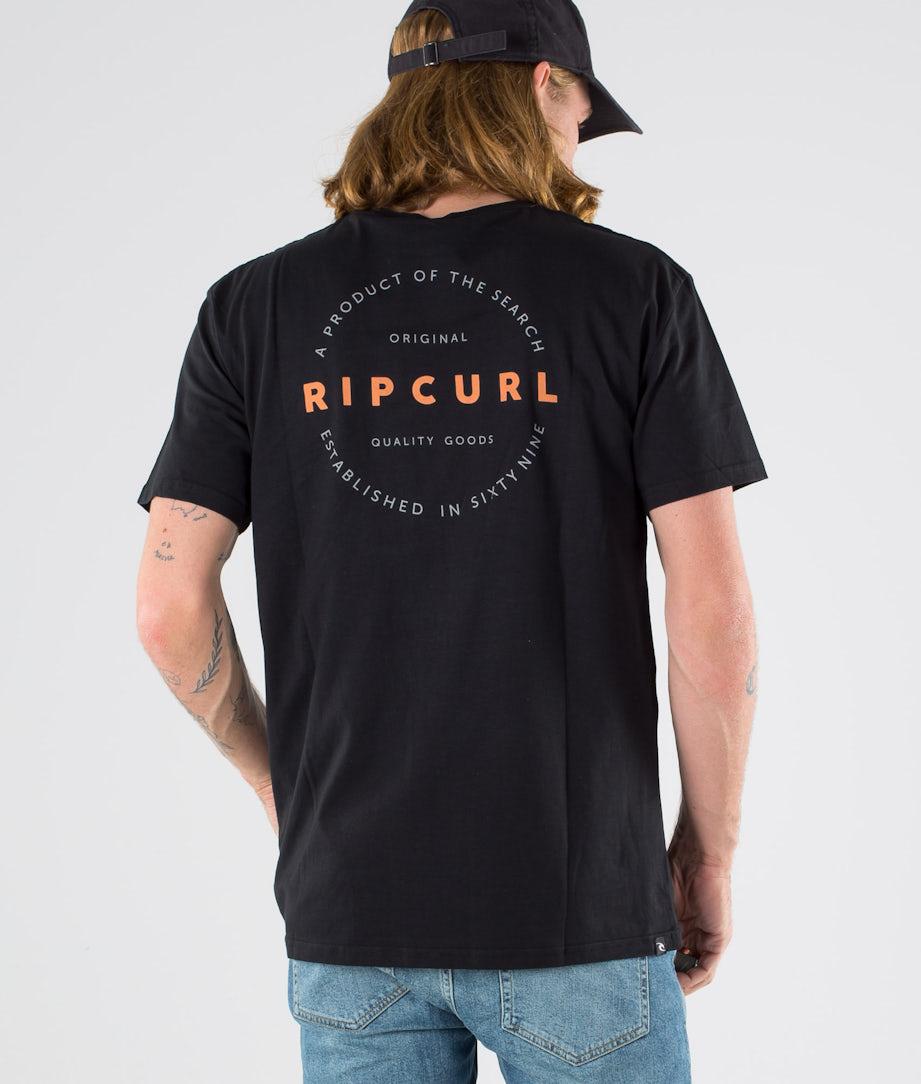 Rip Curl Authentic S/S T-Shirt Black