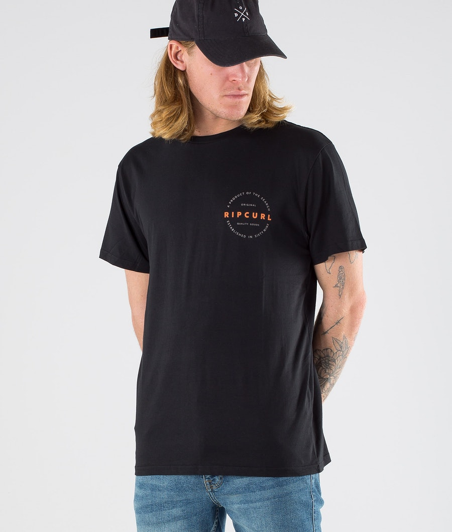 Rip Curl Authentic S/S T-Shirt Black