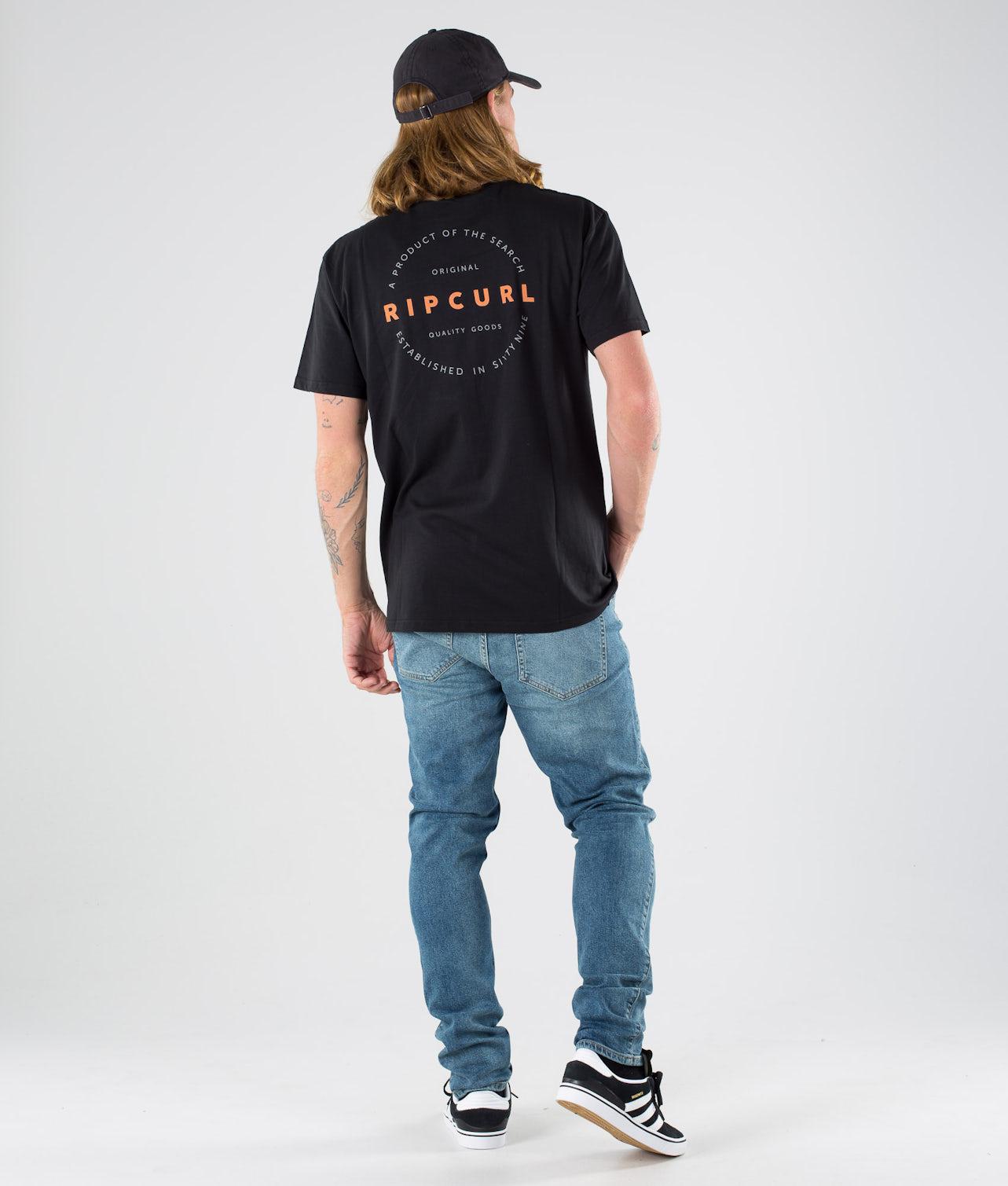 Kjøp Authentic S/S T-shirt fra Rip Curl på Ridestore.no - Hos oss har du alltid fri frakt, fri retur og 30 dagers åpent kjøp!