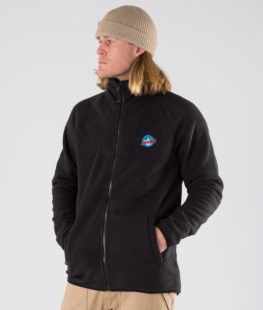 Rip Curl Classic Fleece Snowboardjacke Jet Black