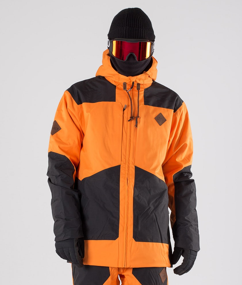Rip Curl Pow Snowboard Jacket Persimmon Orange