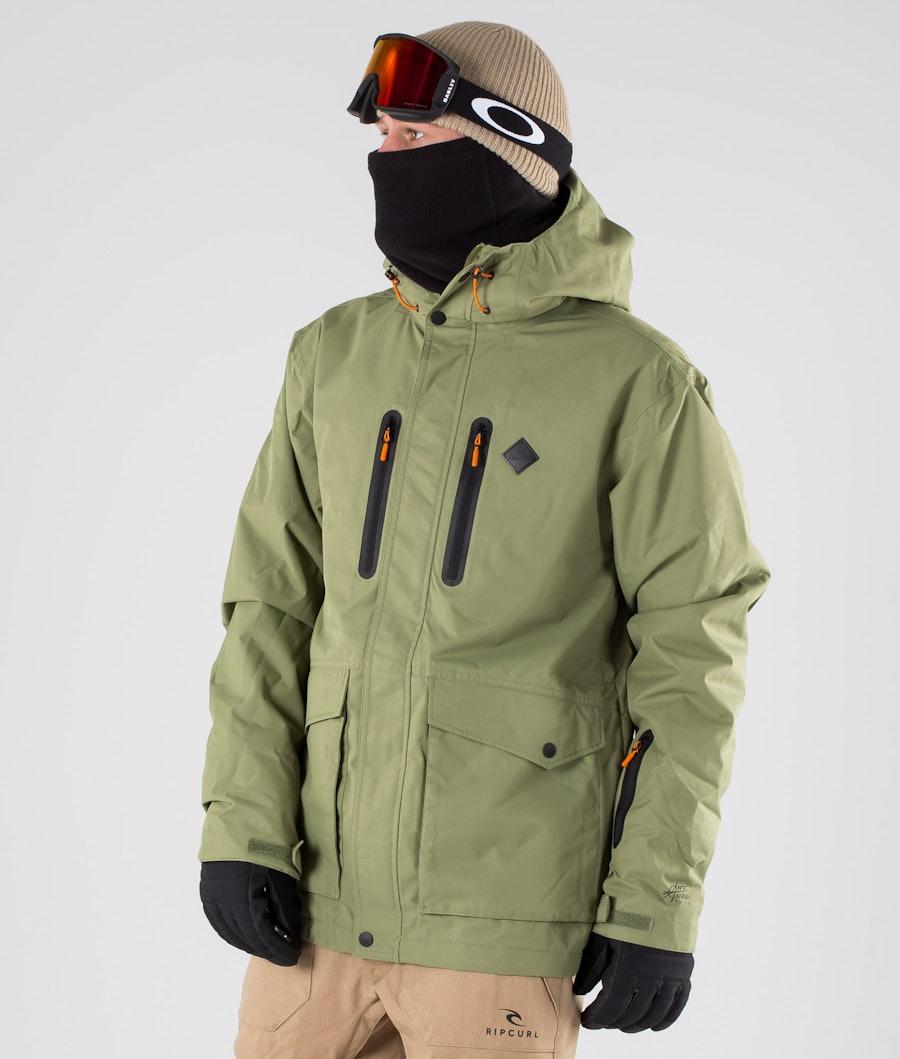 Rip Curl Palmer Snowboard jas Loden Green