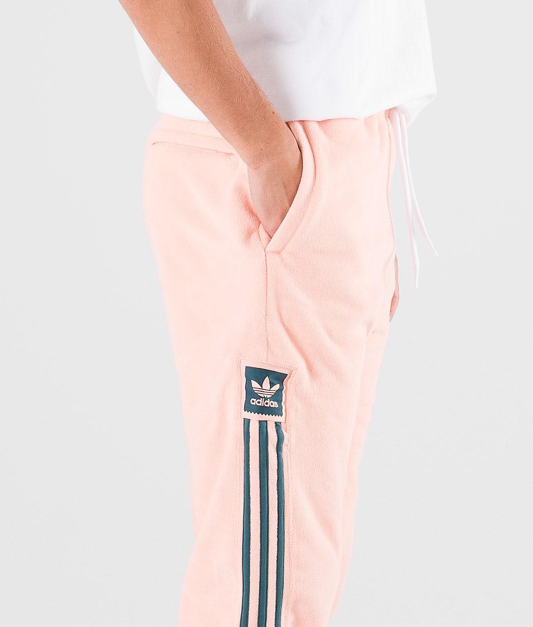 Adidas Skateboarding Grid Bukser Glow Pink/Viridian