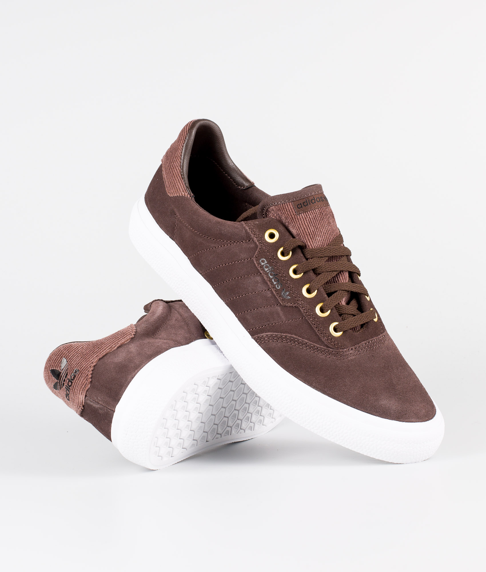 Adidas 3MC Sneakers Ftwr WhiteFtwr WhiteGolden Met.