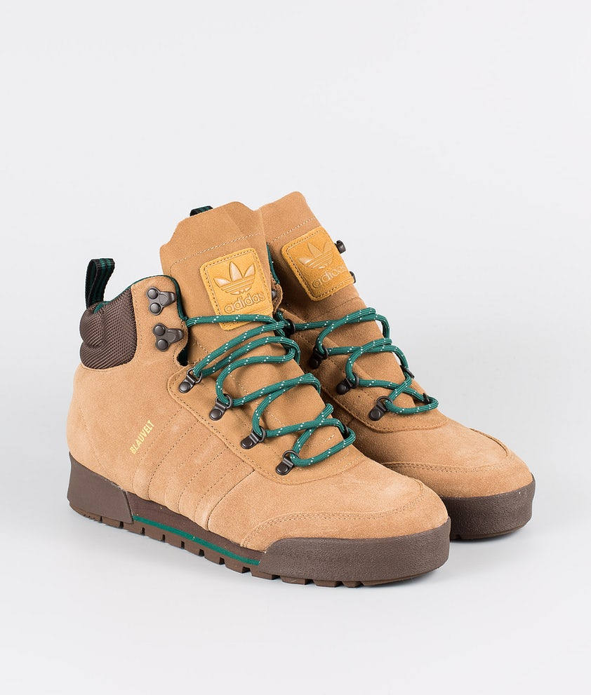 Adidas Skateboarding Jake Boot 2.0 Sko Raw Desert/Brown/Collegiate Green