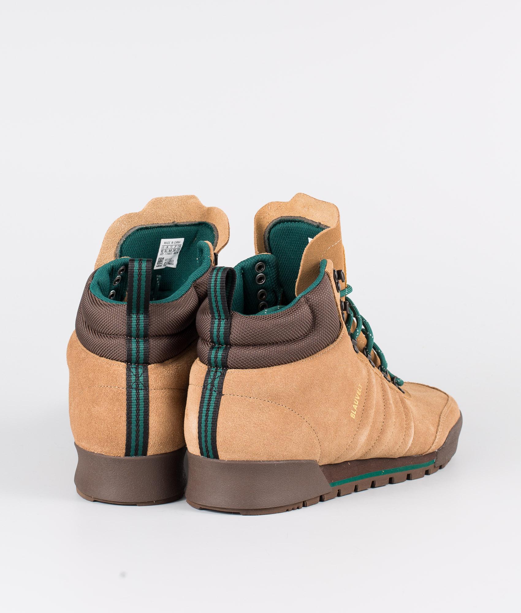 adidas Skateboarding Jake Boot 2.0 raw desert brown collegiate green