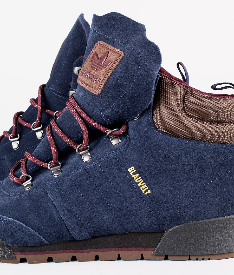 Adidas Skateboarding Jake Boot 2.0 Sko Collegiate Navy/Maroon/Brown