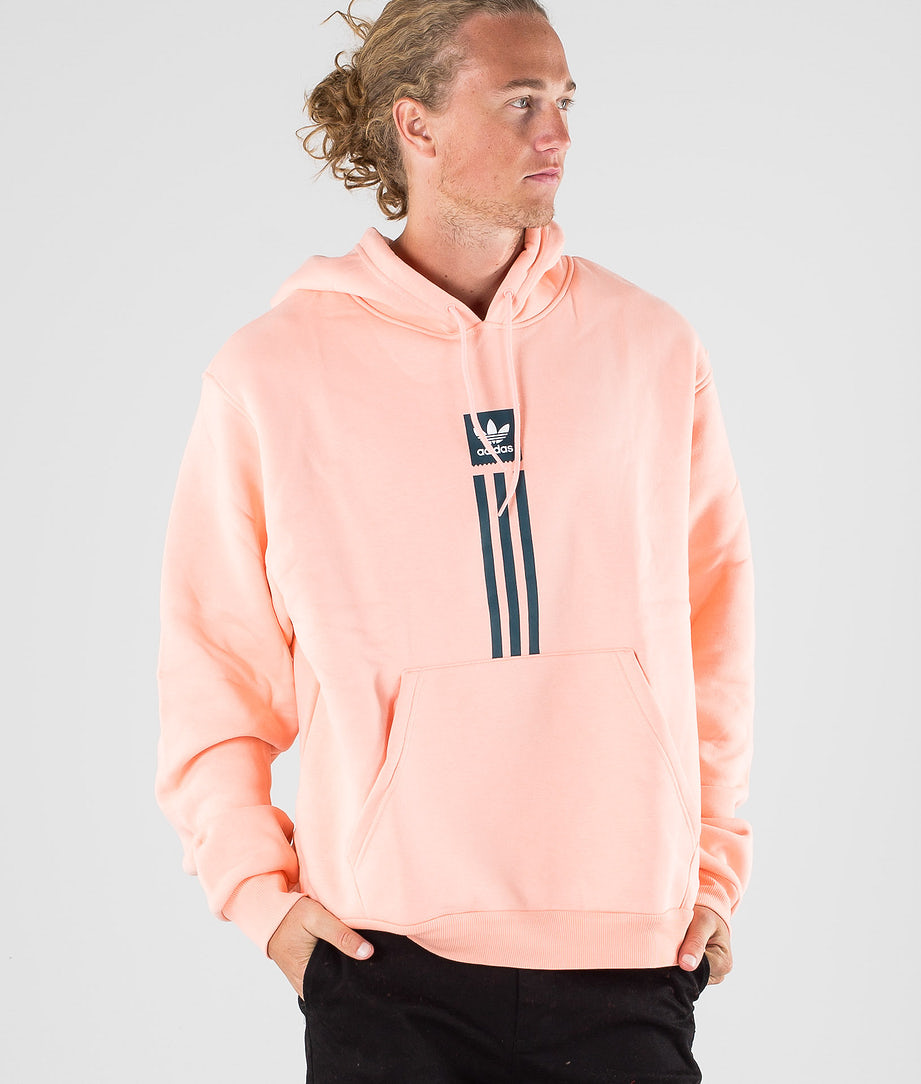 Adidas Skateboarding Solid Pillar Hd Hood Glow Pink/White/Viridian