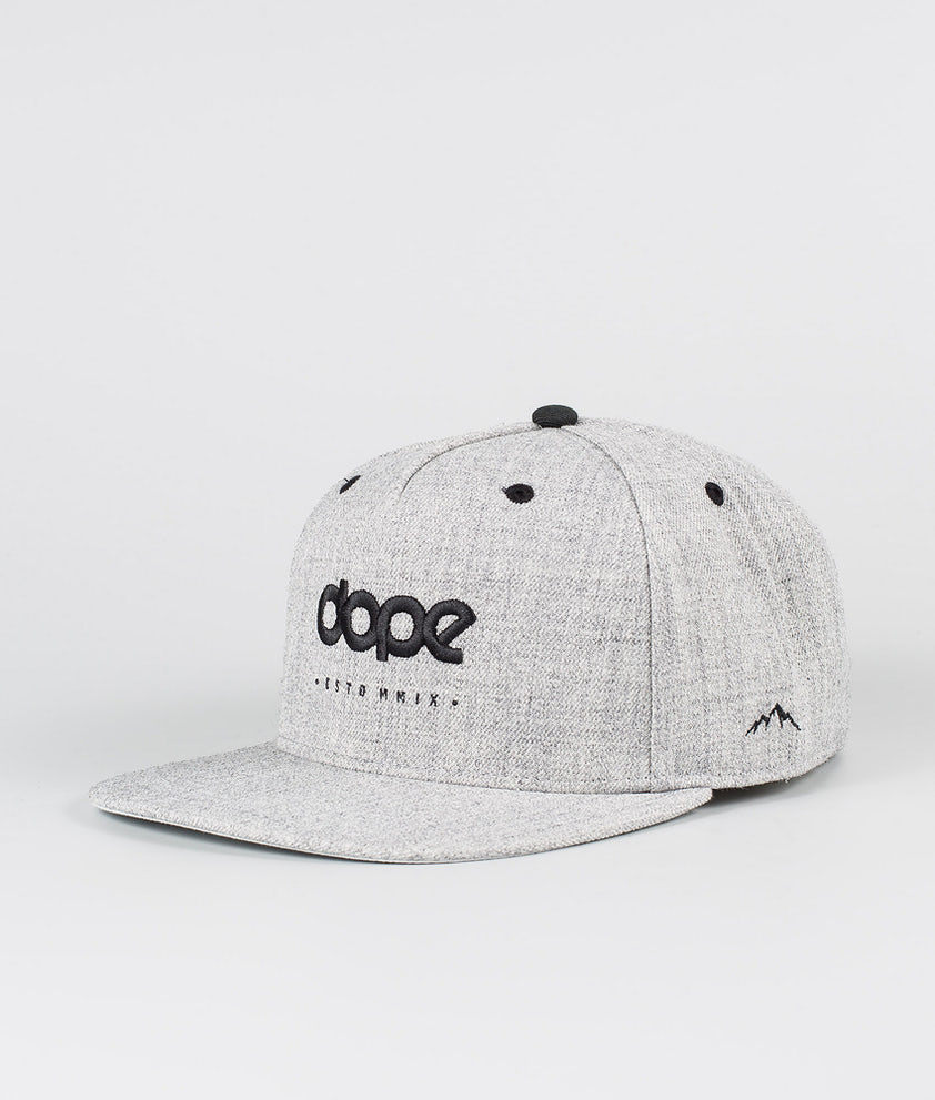Dope Dope OG Caps Heather Grey