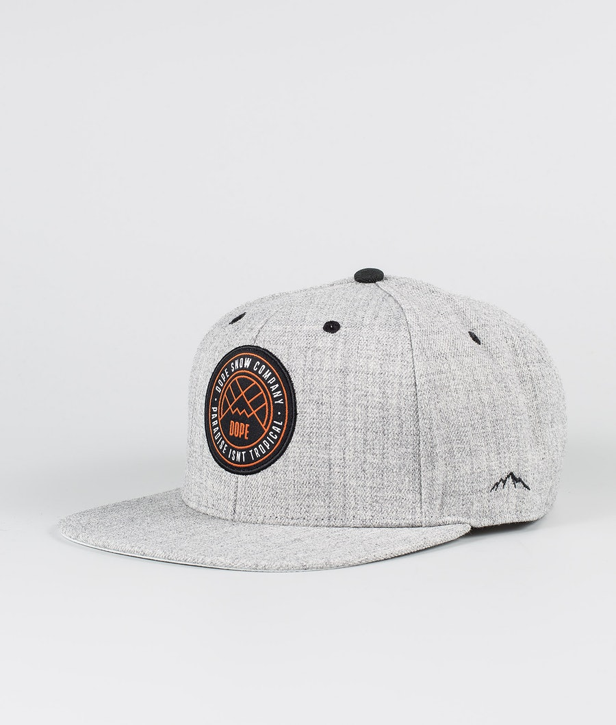 Dope Camper Caps Heather Grey