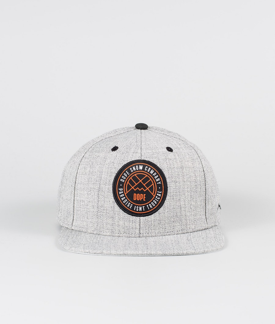 Dope Camper Cap Heather Grey