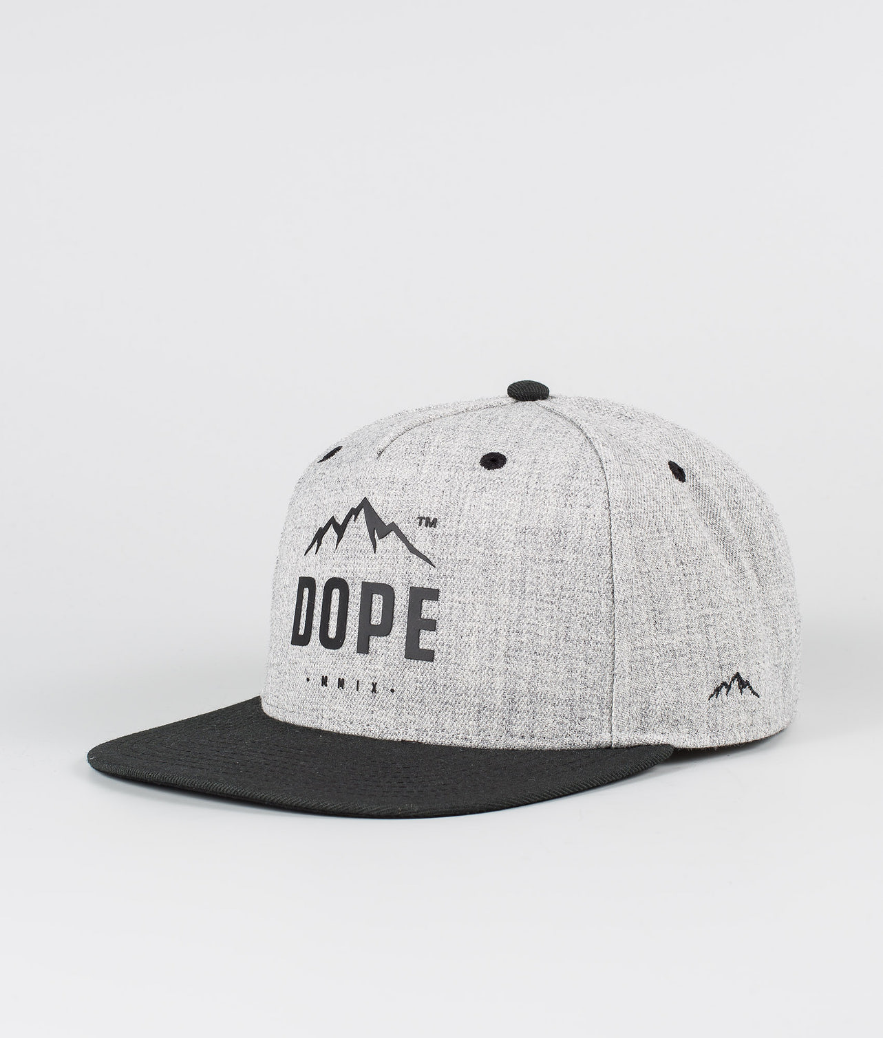 Dope Paradise Caps Heather Grey Black