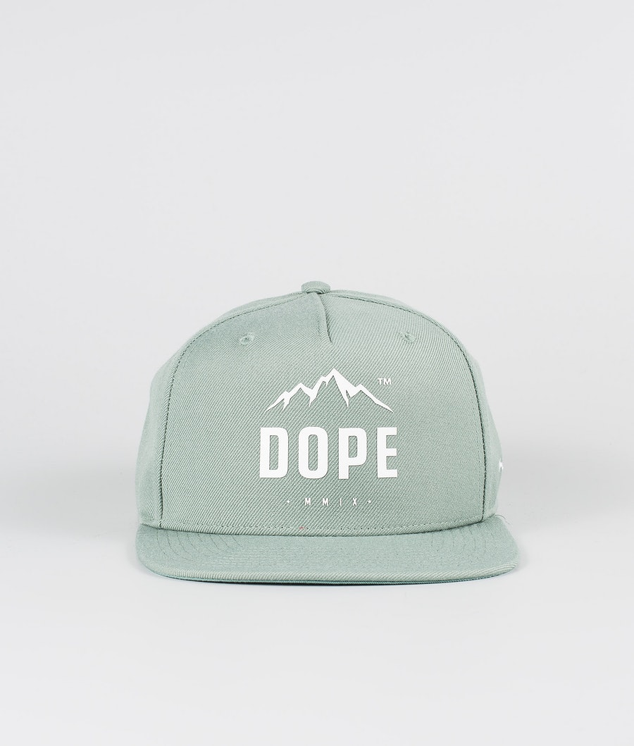 Dope Paradise Keps Faded Green