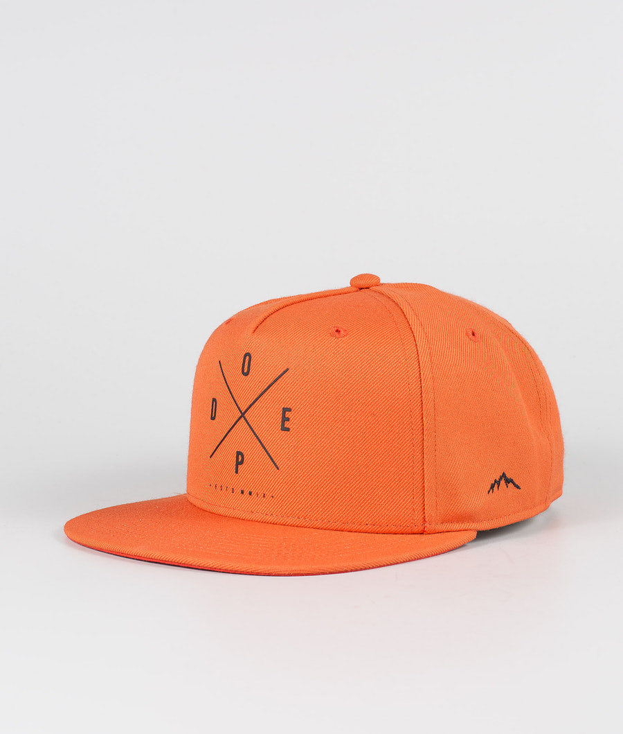 Dope 2X-up Cap Orange