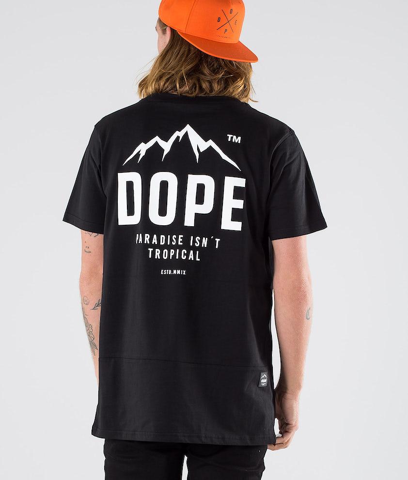 Dope Paradise II T-shirt Black