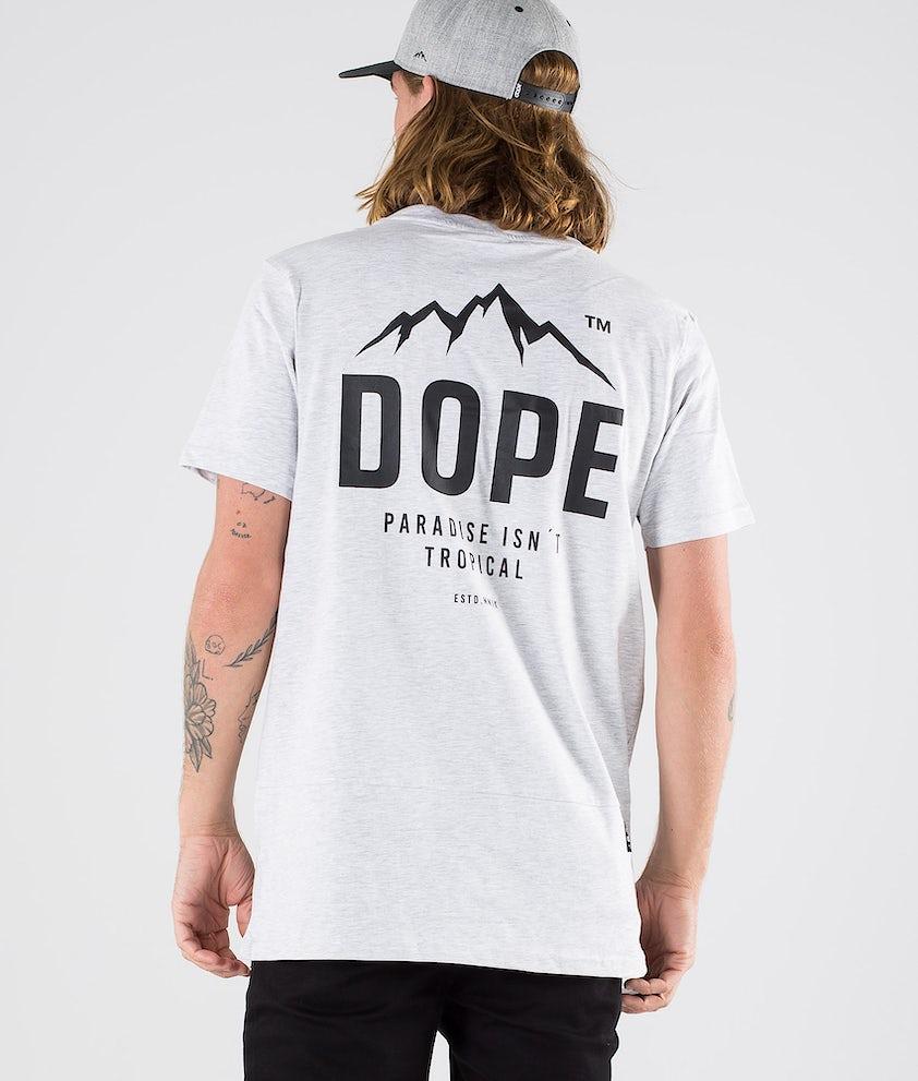 Dope Paradise II T-shirt Grey Melange
