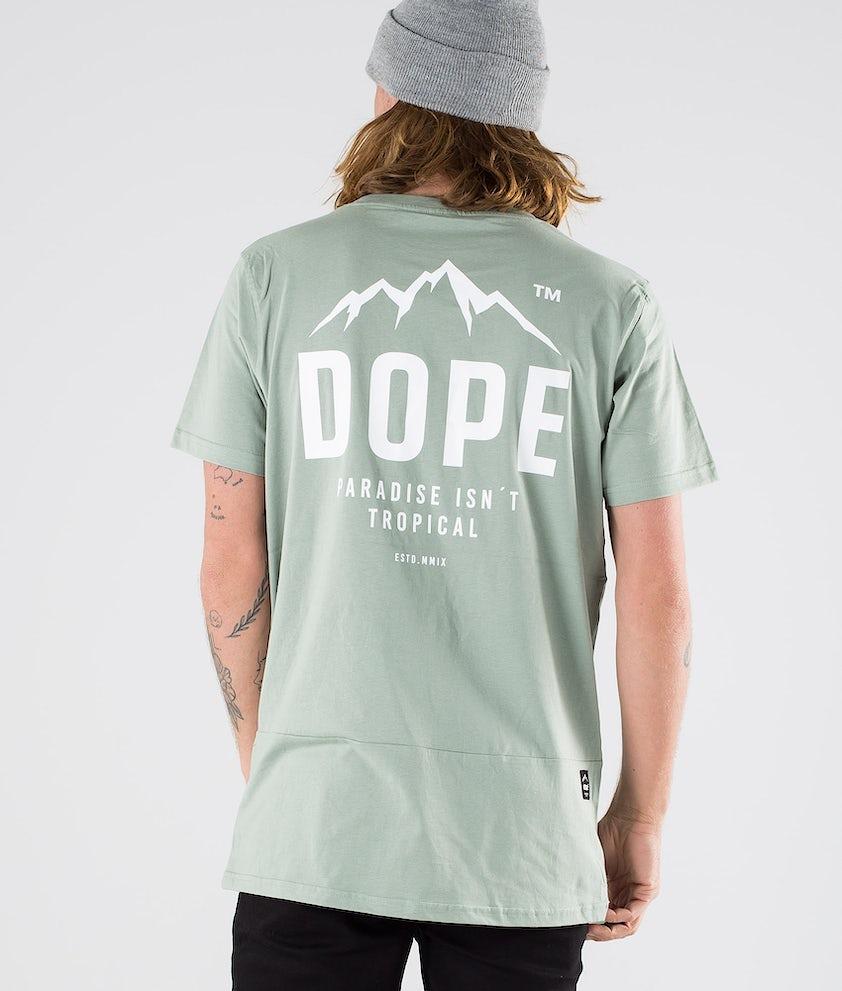Dope Paradise II T-Shirt Faded Green