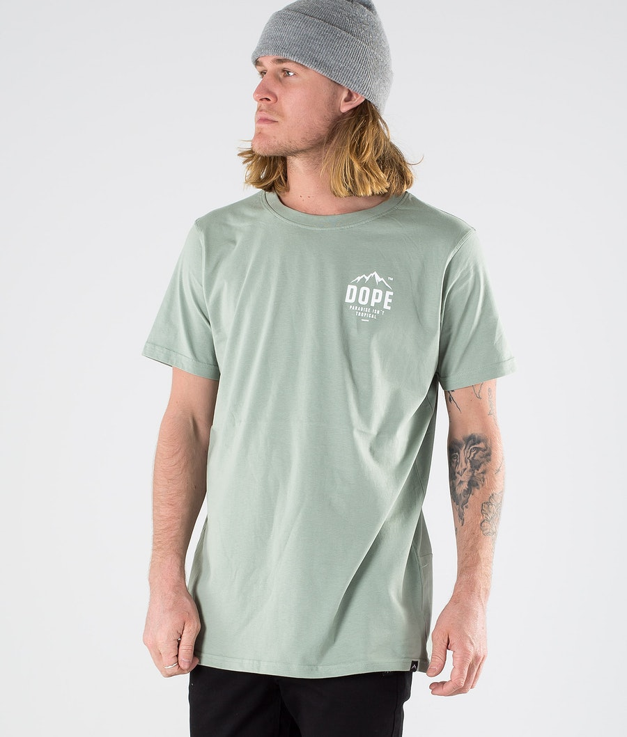 Dope Paradise II T-shirt Faded Green