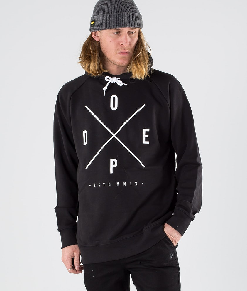 Dope Plain 2X-up Hoodie Black