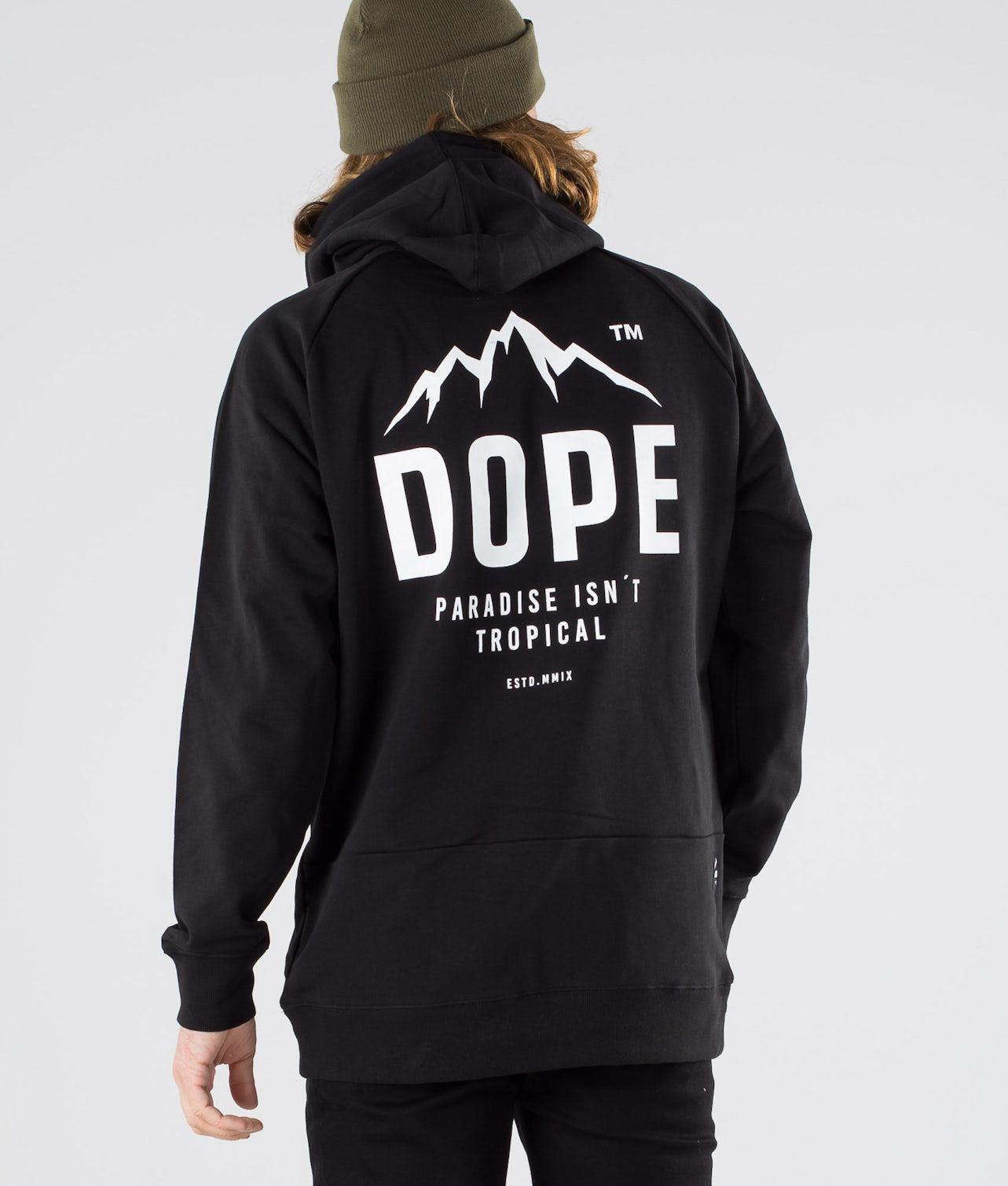 Dope Plain Paradise II Hood Black