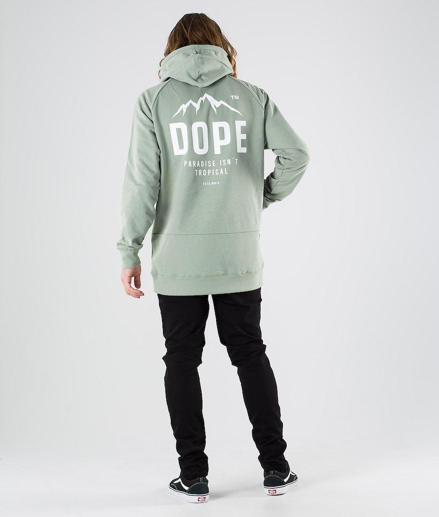 Dope Clean Paradise II Hood Faded Green