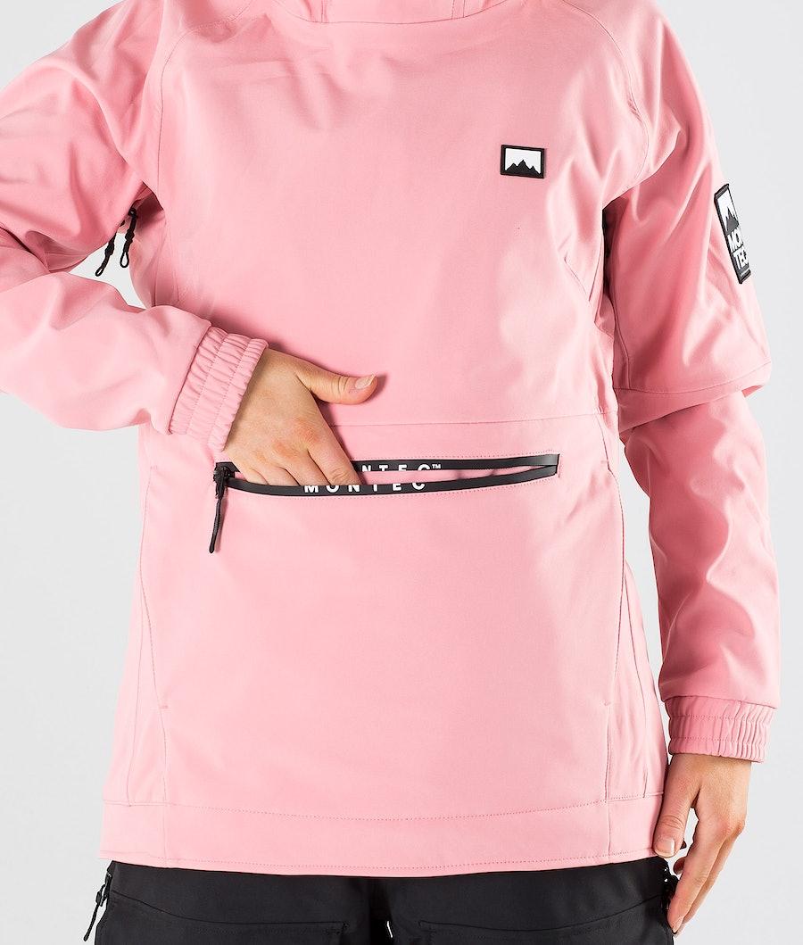 Montec Tempest W Snowboardjacke Damen Pink