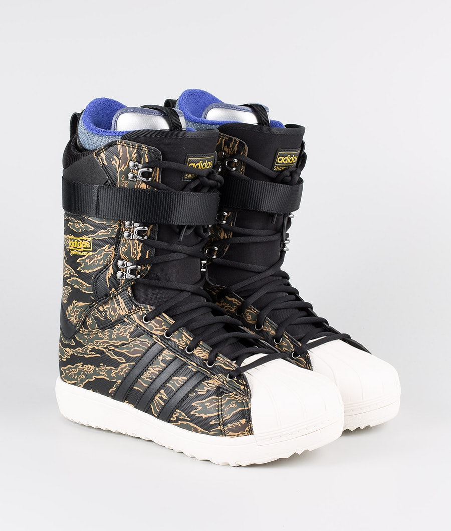 Adidas Snowboarding Superstar Adv Snowboard Schoenen Core Black/Night Cargo/Raw Desert