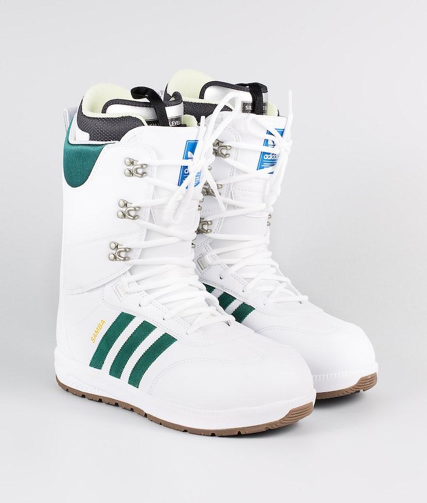 Adidas Snowboarding Samba Adv Boots Footwear White/Collegiate Green/Gum5