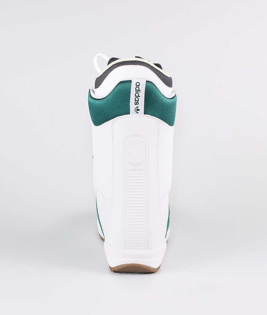 Adidas Snowboarding Samba Adv Boots Snowboard Footwear White/Collegiate Green/Gum5