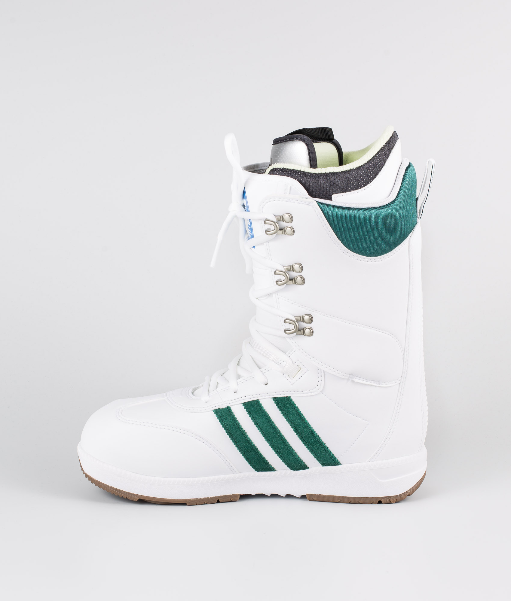 Adidas Snowboarding Samba Adv Boots Footwear WhiteCollegiate GreenGum5