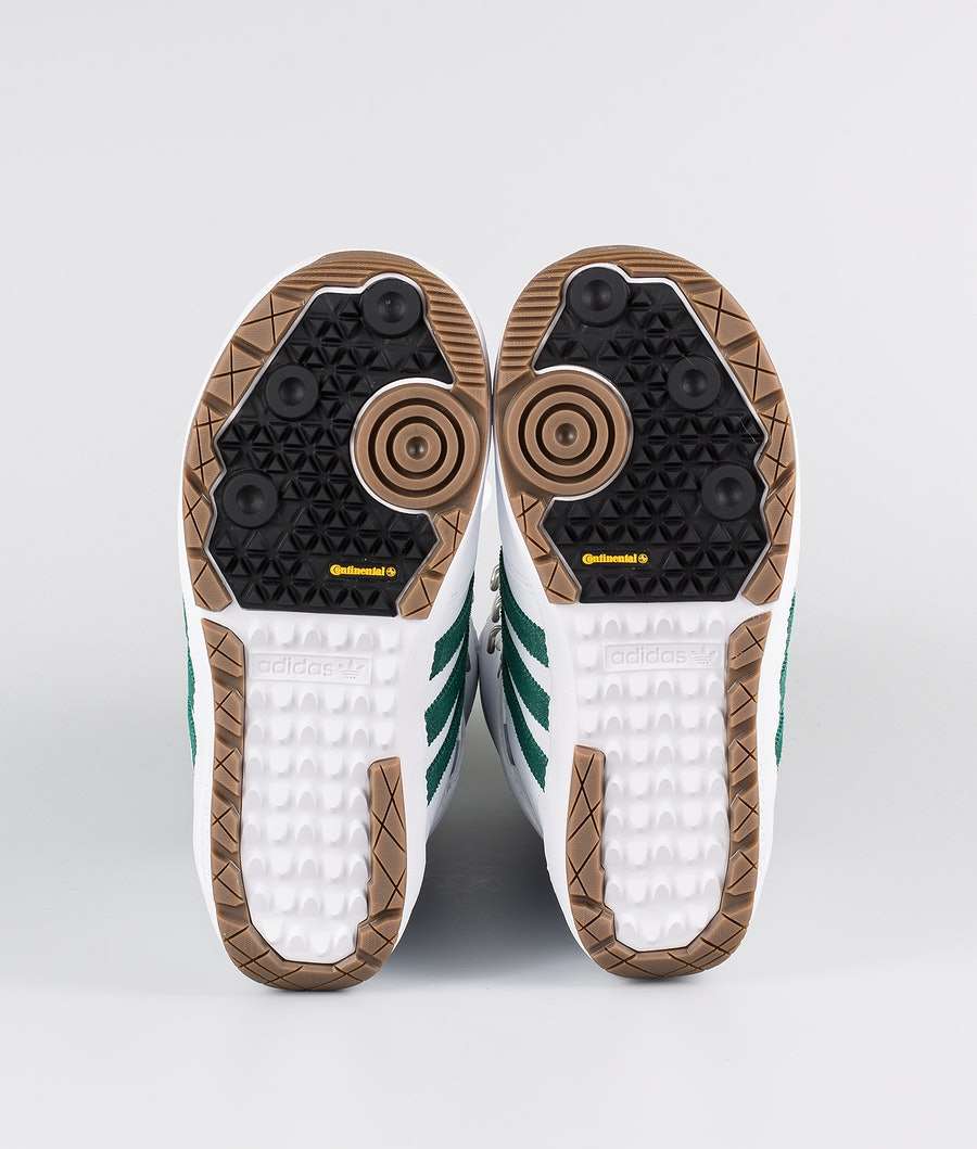 Adidas Snowboarding Samba Adv Scarponi Snowboard Footwear White/Collegiate Green/Gum5