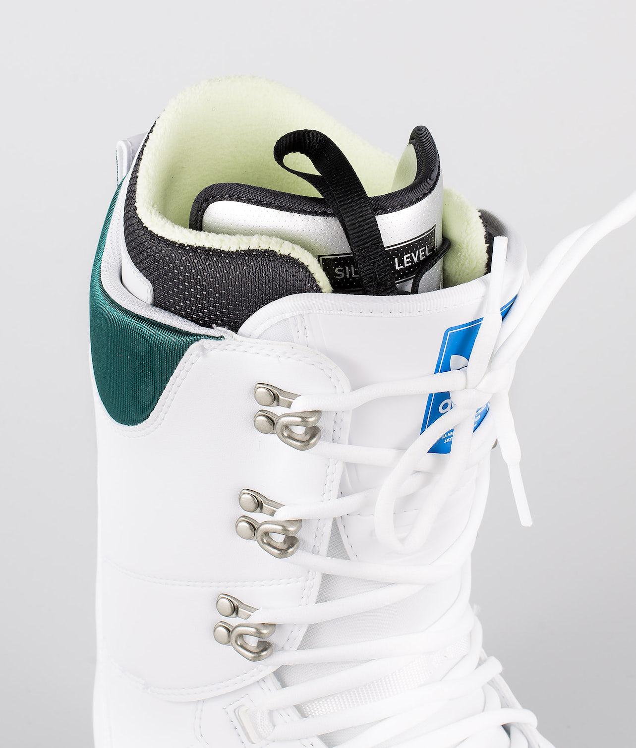 Adidas Snowboarding Samba Adv Scarponi Footwear White/Collegiate Green/Gum5