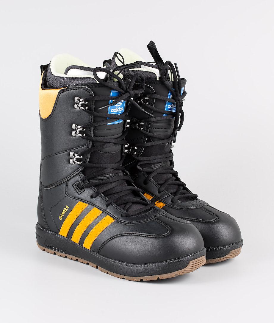 Adidas Snowboarding Samba Adv Snowboard Boots Core Black/Collegiate Gold/Gum5
