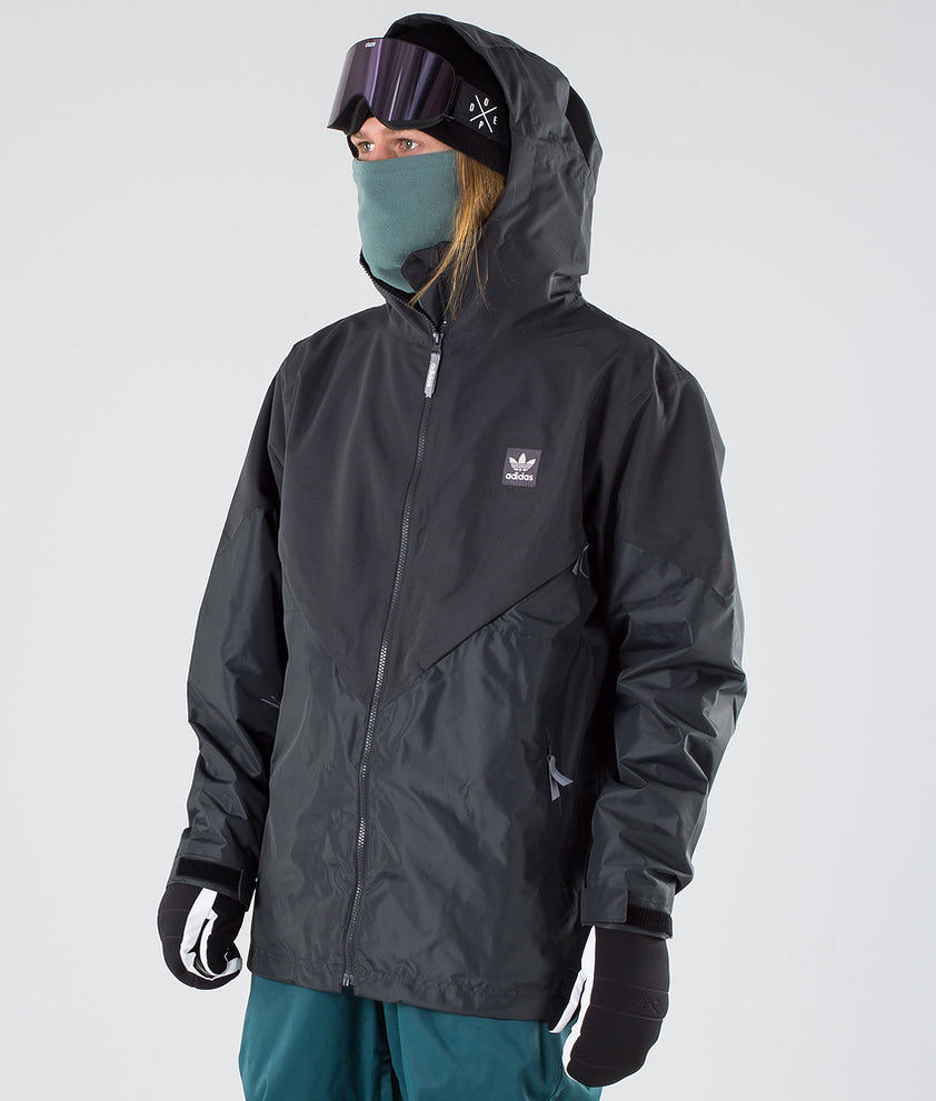 Adidas Snowboarding Premier Riding Jacke Carbon