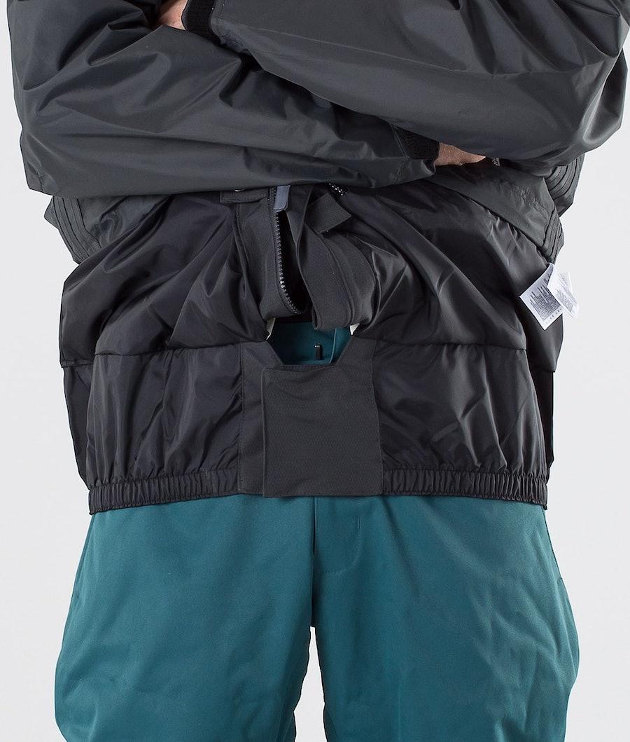 Adidas Snowboarding Premier Riding Snowboard Jacket Carbon